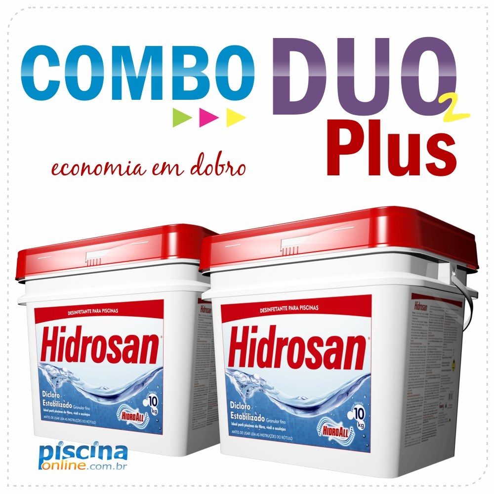 Combo Duo Plus - Exclusividade PiscinaOnline