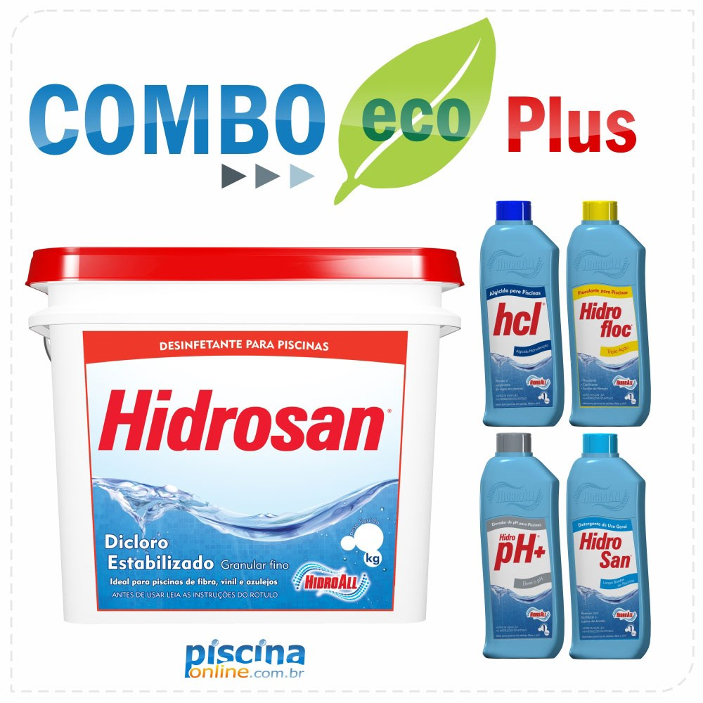 Combo Eco Plus - Exclusividade PiscinaOnline